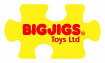 Dřevěné hračky Bigjigs Baby Chrastítko duhový válec Bigjigs Toys