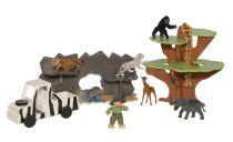 Dobrodružné zvířecí safari - Poškozená krabička