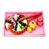 Dřevěné hračky - Narozeninový dort