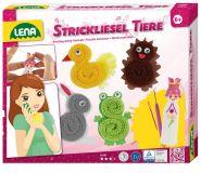 Dřevěné hračky Lena Pletená zvířátka