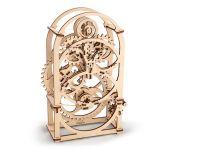 Ugears Dřevěná stavebnice 3D mechanické Puzzle Hodiny