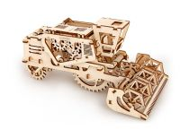 Ugears Dřevěná stavebnice 3D mechanické Puzzle Kombajn