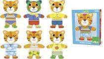Vilac dřevěné oblékací puzzle kočička