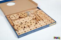 Dřevěné hračky Dřevěná stavebnice PONY mini