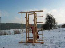 Dřevěné hračky Dřevěné dětské hřiště - Stavebnice - Modul Start PA