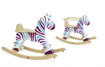 Dřevěné hračky Vilac - Dřevěná houpací zebra