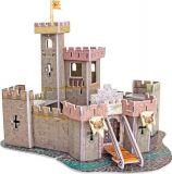 Třívrstvé pěnové 3D puzzle - 3D Hrad středověku