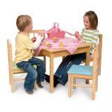 Dřevěné hračky Bigjigs Toys Dětský dřevěný hrací stůl