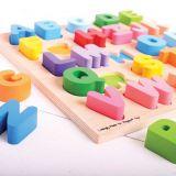 Dřevěné hračky Bigjigs Baby Abeceda velká písmena Bigjigs Toys