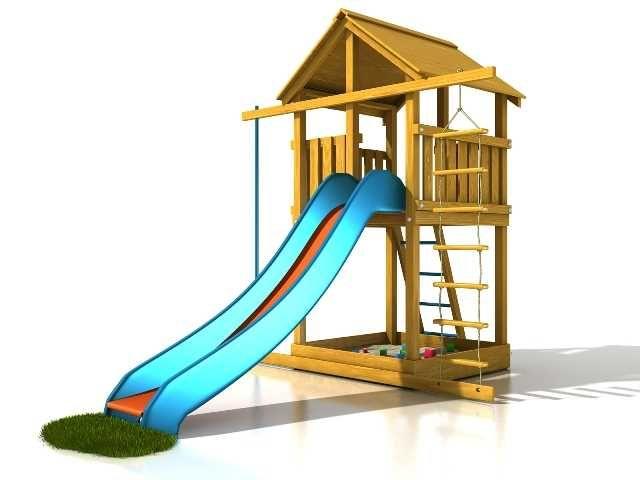 Dřevěné hračky Dřevěné dětské hřiště - Stavebnice hřiště Eliška PA