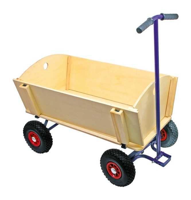 Dřevěné hračky Small Foot Dřevěný vozik na tahání Small foot by Legler