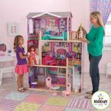 Dřevěné hračky - KidKraft domeček pro panenky Elegant 46