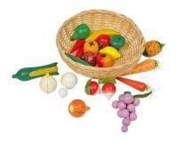 Small Foot Kuchyně košík se zeleninou