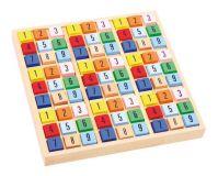 Dřevěné hry - Dřevěné sudoku barevné kostičky