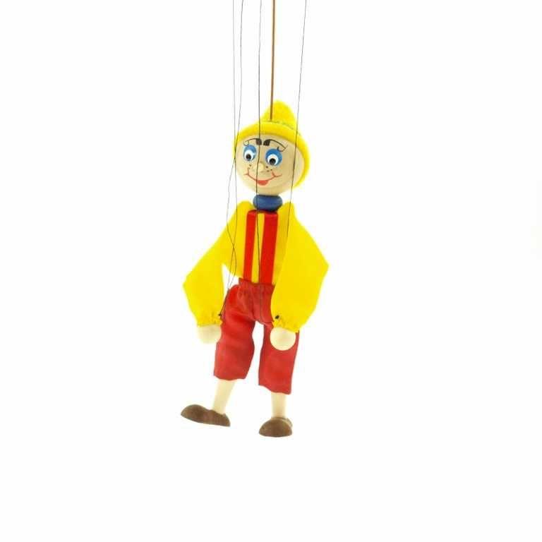 Dřevěné hračky Dřevěné loutky - Pinocchio Česká dřevěná hračka