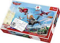 Small Foot Papírové puzzle letadla Maxi