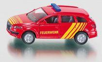 Siku Kovový model požární vůz velitele zásahu