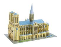 Třívrstvé pěnové 3D puzzle  - 3D Notre-Dame