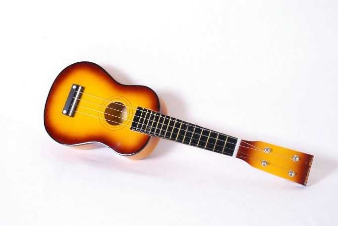 Dřevěné hračky Small Foot Dětská kytara hnědá Small foot by Legler