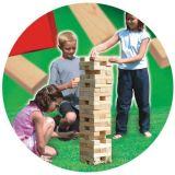 Dřevěné hračky Classic world Dřevěná hra velká jenga