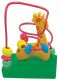Dřevěné hračky - Motorický labyrint malý Žirafa