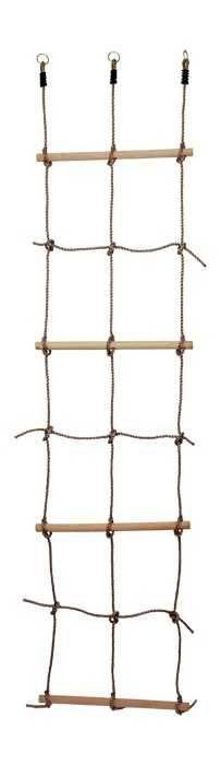 Dřevěné hračky Dřevěné venkovní hračky - Provazový žebřík Small foot by Legler
