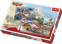 Small Foot Papírové puzzle letadla 2v1