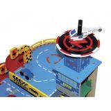 Dřevěné hračky Small Foot Dětská parkovací dřevěná garáž Metropole Small foot by Legler