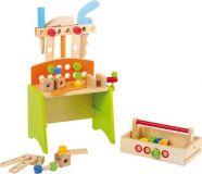 Dřevěné hračky - Dílenský stůl Deluxe