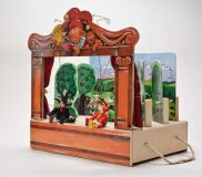 Dřevěné hračky Dřevěné hračky - Gerlichovo loutkové divadlo