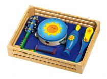 Dřevěné hračky - Hudební sada Slunce