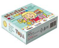 Dřevěné obrázkové kostky - KUBUS MINI - Baby kostičky