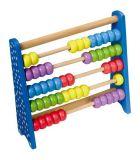 Small Foot Dřevěné školní pomůcky kuličkové počítadlo barevné