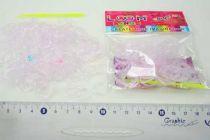 Gumičky Loom Bands -mění barvu - růžové