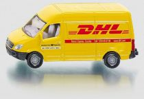 Kovový model auta - SIKU Blister -Poštovní dodávka Mercedes