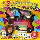 Dětské hlavolamové smart hry - 3 Náklaďáky