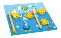 Dřevěná motorická hračka - Rybářská hra Maják