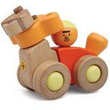 Dřevěné hračky My Zoo Hravá stavebnice Opičí auto