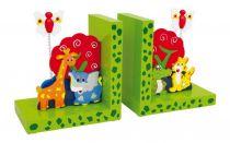 Small Foot Opěrky knih divoká zvířata sada 2 ks