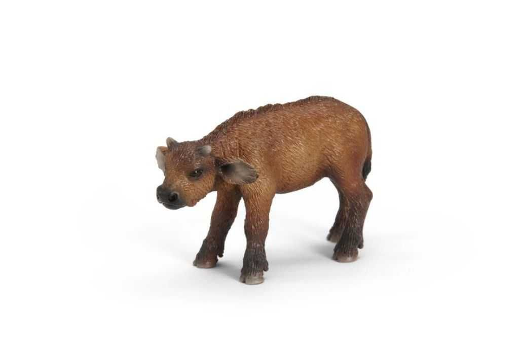 Dřevěné hračky Zvířátka Schleich - mládě afrického buvola