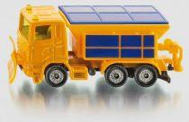 Kovový model auta - SIKU Blister - Zimní úklidové vozidlo