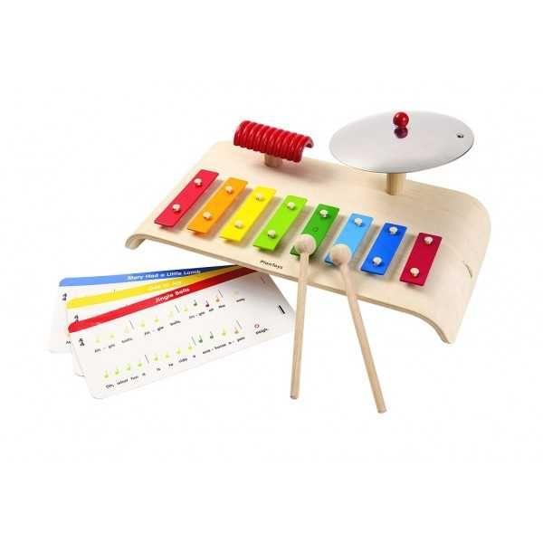 Dřevěné hračky PlanToys Hudební sada