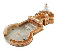 Třívrstvé pěnové 3D puzzle  - Bazilika svatého Petra