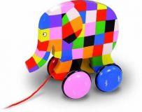 Dřevěné hračky Vilac Tahací slon Elmer