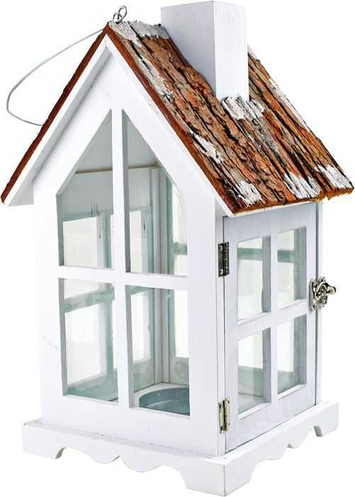 Dřevěné hračky Small Foot Dřevěné dekorace lucerna venkovský dům Small foot by Legler