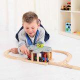 Dřevěné hračky Bigjigs Rail Nádraží