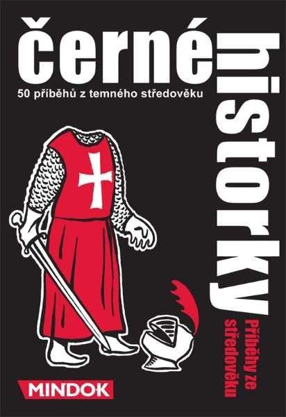 Dřevěné hračky Rodinné karetní hry - Černé historky: Příběhy ze středověku Mindok