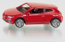 Siku Kovový model auta Volkswagen Scirocco červené
