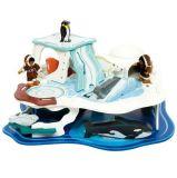Dřevěné hračky Bigjigs Toys Dřevěný ledovec - Polární dobrodružství