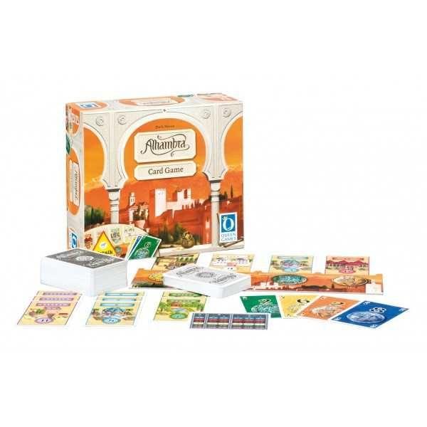 Dřevěné hračky Deskové rodinné hry - Alhambra - Karetní hra Piatnik